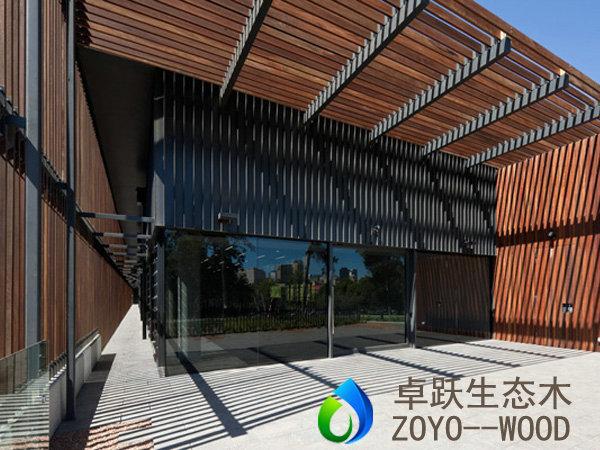 生态木方木100x25生态木方通可做吊顶隔断